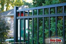 Key-Link Aluminum Fencing / Key-Link's Aluminum Fence is available for both Residential projects and Commercial Fence Projects
