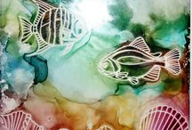 Crafts - Alcohol Ink Projects