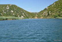 Canyon Zrmanja Croatia / Zdjęcia z przełomu rzeki Zrmanja widziane z perspektywy kajaku