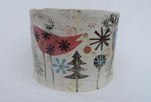 keramiek doosjes / ceramic boxes