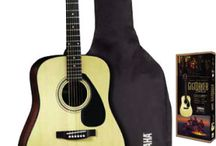 Beginner's Gear Guide: Acoustic Guitar / Ready to start playing acoustic guitar? Start on the road to songwriter stardom with this guide.   Once you've decided to go with an acoustic guitar, your next step is to choose which type of acoustic will suit you best. Take a look at this guide to learn about steel-string vs. nylon-string acoustics, small-sized guitars for younger players, and accessories for aspiring acoustic guitarists.