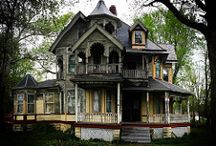 Old mansions.