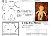 Fabric doll / Pattern