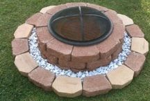 Fire Pit with space for miscellaneous settings