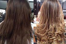 luzes para cabelos