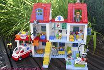 Lego & Duplo / Jouets de voyage, jouets vintage, jouets montessori, jouets en bois, jouets électroniques, Legos et Playmos...