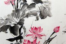 Суми-э. Японская живопись