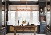 Dark & Dramatic Cabinetry