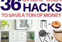 Ikea Hacks / A roundup of the best Ikea hacks for every room in your house - you won't believe these furniture flips!
