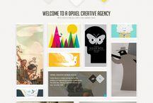 Moodboard: Webdesign