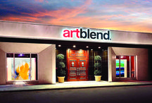 artblend Gallery / Pictures of our 6200 sq ft Art Gallery and Event space.