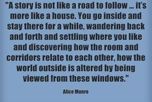 Storyteller Alice Munro