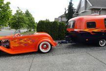 Nice cars and trailers