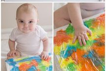 Toddler artistic activity