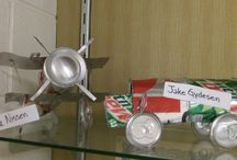 Pop Art / The art 1 class has been doing a different kind of recycling, using pop cans to make different objects