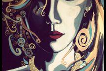 Art : Painting / Art , painting , acrylic painting