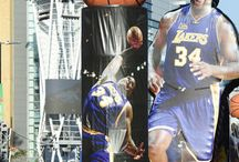 Shaquille / 30' Inflatable Shaquille O'Neal. Inflatable Shoe Replica Inflatable Basketballs