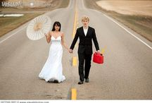 Gettin' Hitched! Creative Country Weddings / My collection of favorite images or ideas of rustic weddings.