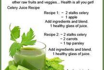 Celery juices