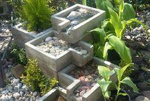 kaskady / kaskada z betonu