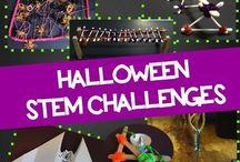 STEM challenge HALLOWEEN