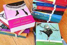 Los libros. / Books to reread/boys to read.