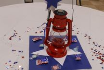 Scouts table decoration
