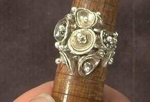 Jewellery - wide rings