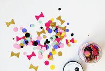 Sprinkles/Confetti party ideas