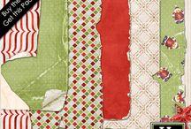 Dear Santa Digital Scrapbooking by Kathryn Estry