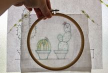 """Daydreams of Quilts' Embroidery Tutorials / Embroidery Tutorials on my blog """"Daydreams of Quilts""""."""