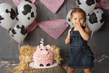Little piggy second birthday