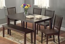 Dining Room Tables / by Sarah Travis