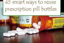 Prescription for change / Reusing prescription bottles
