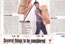 Meera in the Press / Press Articles by Mrs. Meera Ravi