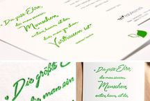 Letterpress Cards / Here are some examples of Letterpress Cards.