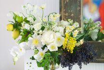 Garden flowers design