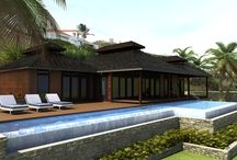 Bali Houses / Panama's numerous islands and more than 2,000 km of coast deserve a typical tropical island architecture. Bali Houses are what people consider most appropriate all around and across the Pacific ocean and the Caribbean. From Bali itself to French Polynesia, Hawaii and Panama. You can get yours now