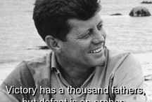 JFK  / John Fitzgerald Kennedy