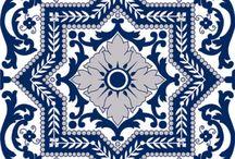 Blue Tile design
