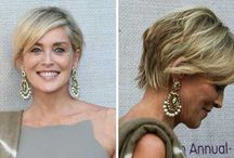 Hair styles - short to medium