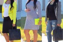 Moda para grávidas / Grávidas