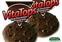 2 WW Points / Our Blue Bran, Banana ChocoChip and Dark Chocolate Pomegranate VitaTops are delicious 2 points on Weight Watcher's PointPlus system!