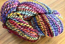 Handspun Yarn / Original handspun yarns by fiber artist Joshua Steger and Icon Fiber Arts