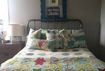 Quilts on Bed
