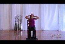 yoga con silla