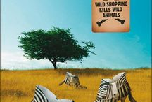 Thought provoking WWF adverts