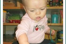 Sensory Play for Babies & Toddlers / Sensory Play safe for babies and toddlers