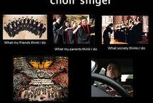 chorus girl
