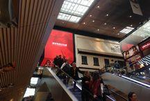 Ecran géant EURALILLE / Ecran architectural à angle droit. 46m2 pitch 4mm indoor